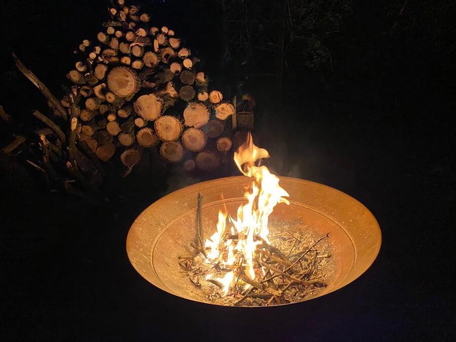 taken at campfire